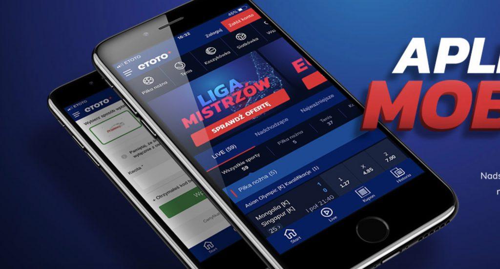 Aplikacja mobilna Etoto. Jak pobrać i obstawiać?