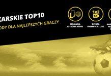 Piłkarskie TOP 10 - szansa dla typerów na 500 zł od bukmachera Fortuna!